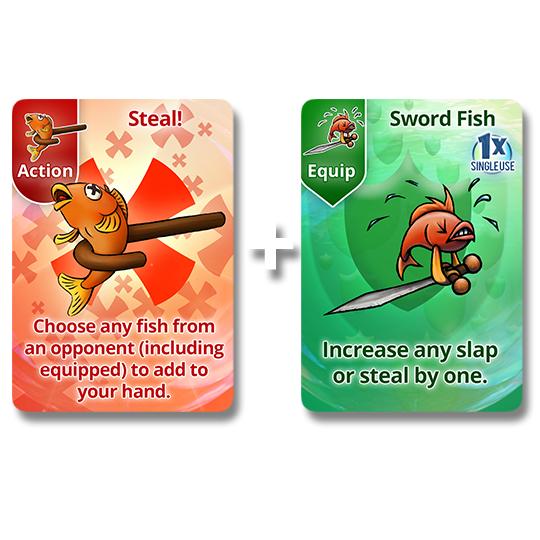 Steal + Sword Fish