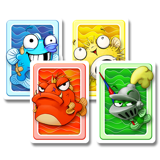 Fish Cards - Colors Back
